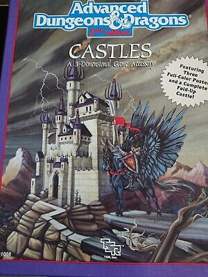Castles Box Set Dungeons & Dragons Ad&d 2nd Edition Tsr 1056 • 29.99£
