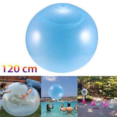 Inflatable Wubble Bubble Ball Soft Stretch Large Outdoor Water Balloons 120 Cm • 12.99£