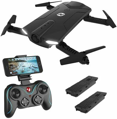 Holy Stone HS160 RC Drone With HD Camera Wifi 2.4G FPV Foldable Helicopter • 62.99£