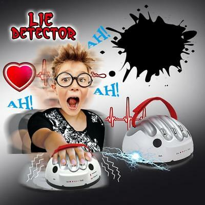 Polygraph Shocking Liar Micro Electric Shock Lie Detector Test Truth Game Toys • 16.99£