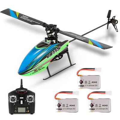 WLtoys V911S 4CH 6G Non-aileron RC Helicopter With Gyroscope For Training Toy • 38.39£