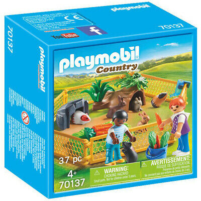 Playmobil 70137 Country Farm Animal Enclosure Playset • 12.99£
