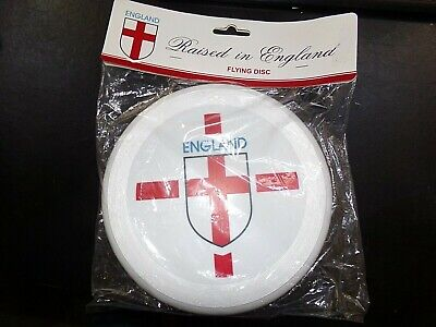 England Frisbee Freestyle Frisbee Throw Ring White Flying Disc Brand New • 8.99£