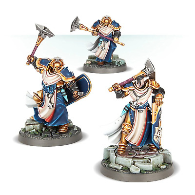 Warhammer Age Of Sigmar - Stormcast Eternals Easy To Build Sequitors X 3 - New • 4.99£