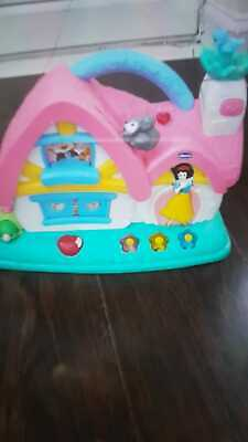 Chicco Snow White Princess Musical Cottage Toy Activity Baby House Disney Girls • 19.99£