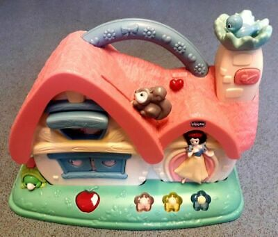 Chicco Snow White Princess Musical Cottage Toy Activity Baby House Disney Girls • 9.99£