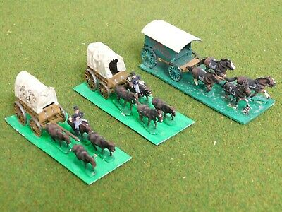15mm ACW Union SUPPLY WAGONS X3 Painted 71185 • 10.75£