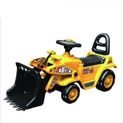 First Ride On Children's Sit' N Ride Push Along Construction Bulldozer Digger • 34.99£