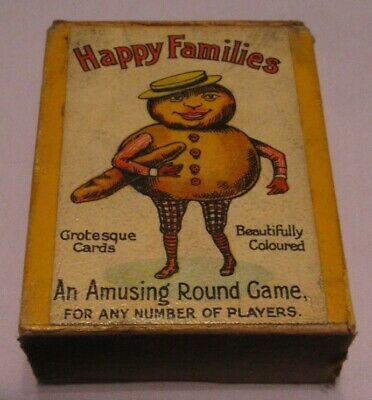 Happy Families Grotesque 1930's By Chad Valley • 12£
