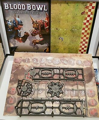Blood Bowl 2016 Pitch, Dugouts And Templates Orc And Human • 30.99£
