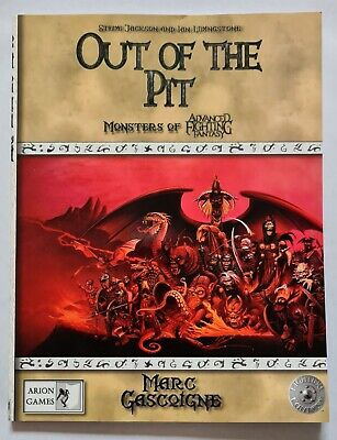 Advanced Fighting Fantasy Out Of The Pit • 19.99£