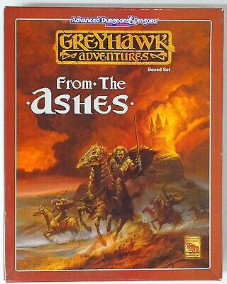 AD&D 2nd Edition GREYHAWK FROM THE ASHES 1064 TSR 71319 • 49.99£