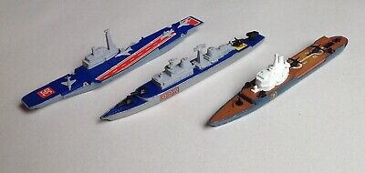 MATCHBOX Sea Kings - K304 K307 AIRCRAFT & HELICOPTER CARRIERS, K308 DESTROYER • 5.99£