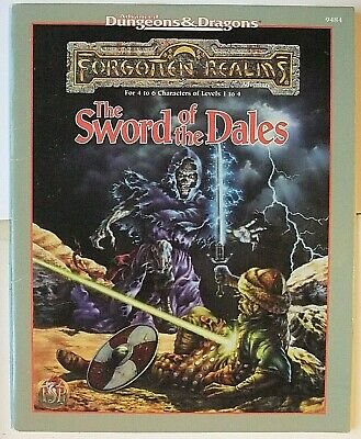 The Sword Of The Dales, Advanced Dungeons & Dragons, Ad&d, Forgotten Realms,9484 • 16£