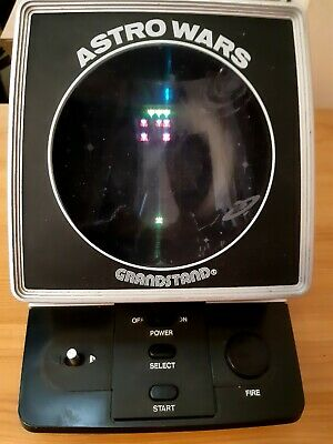 Grandstand Vintage Astro Wars Electronic Game VGC • 27£