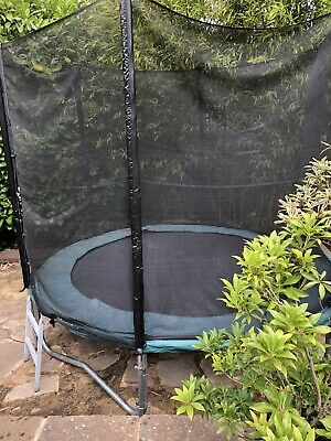 Trampoline 8ft With Enclosure • 16£