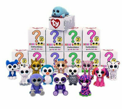 Ty Mini Boos Collectibles Series 2-New-You Choose 3 U Need From The List For £10 • 10£