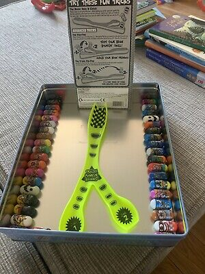 CRAZEE JUMPIN BEANS And Trick Tray 37 Beans • 10£