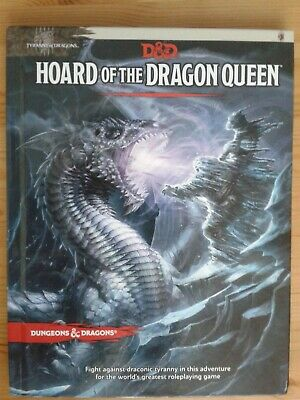 Hoard Of The Dragon Queen : Tyranny Of Dragons, Hardcover By Baur, Wolfgang; • 8£