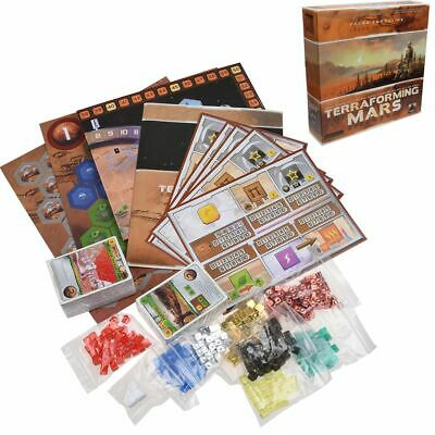 English Version TERRAFORMING MARS Board Game Family Friends Party Gift • 33.99£