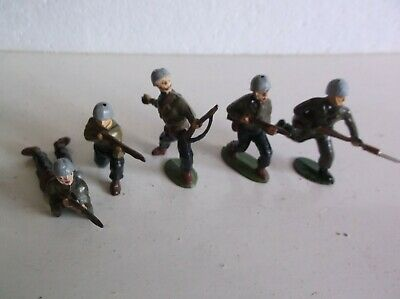 Charbens Ww2 Gi  Lead Toy Soldiers • 20£
