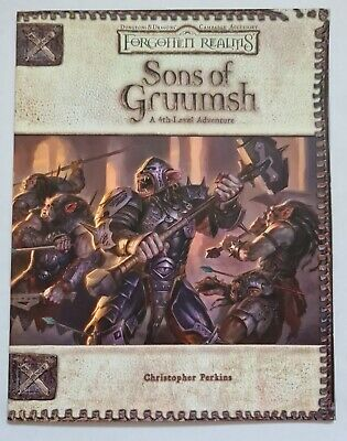 Forgotten Realms Sons Of Gruumsh • 14.99£