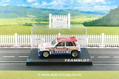 Team Slot 12107 Renault 5 Maxiturbo Fuoya. Brand New, Mint And Boxed • 39.95£