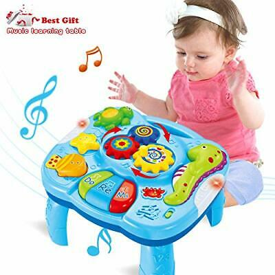 ACTRINIC Musical Learning Table Baby Toys 6 To 12 Months Early Education Music • 27.15£