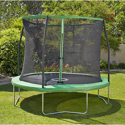 8ft Trampoline Enclosure Safety Net Padded Pad Kids Family Garden FAST DELIVERY • 145£