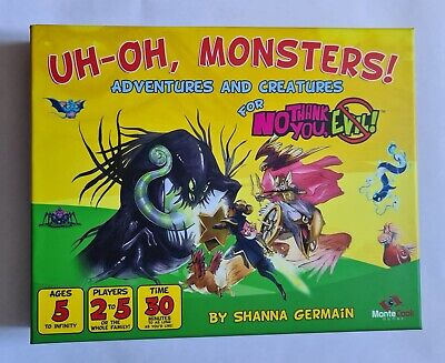 Uh-oh Monsters No Thank You Evil RPG • 16.99£