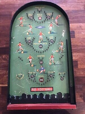 Rare Vintage Kay Pin Football Table Soccer Bagatelle Game • 14.99£