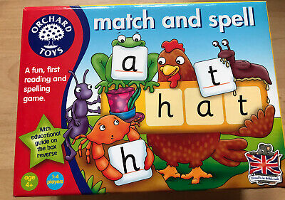 Orchard Toys Match And Spell Game • 2£