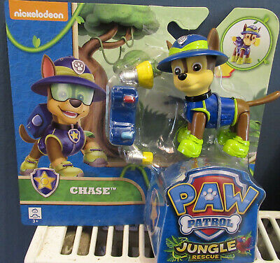 Paw Patrol Chase Jungle Rescue Figure Set - New • 16.99£