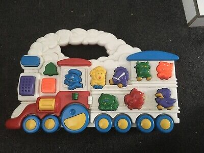 Vintage Chicco Animal Train  Electronic  Sounds Toy From 1994 • 5.90£
