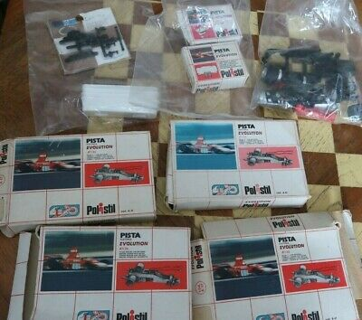 Superb Job Lot Polistil Slot Car Racing Boxed Accessories And Spares Chassis Etc • 4.99£