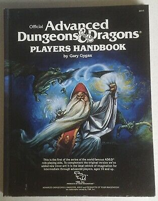 Official Advanced Dungeons & Dragons Players Handbook, Gary Gygax. Hb 1978 • 4.99£