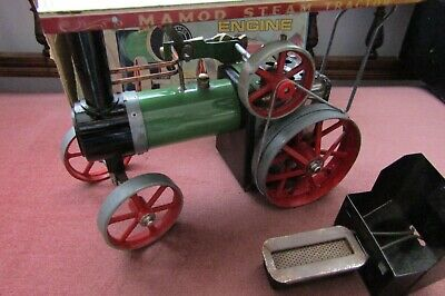 MAMOD Traction Engine Spirit Fired 1960s Issue, Excellent Condition Plus Box • 159£