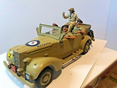 EA31SL 8th Army, Churchill And His Generals, In Staff Car -LIMITED EDITION • 97.05£