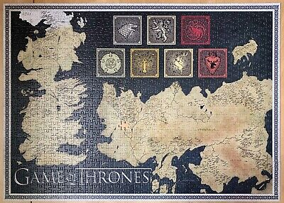 Game Of Thrones 1000 Piece Jigsaw Puzzle • 1.90£