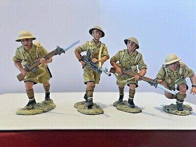 EA09 8th Army, Advance Under Fire, Boxed Set Of 4 • 56£