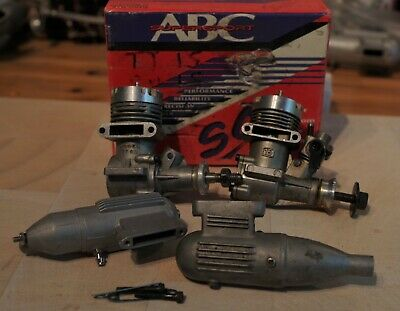 Two Thunder Tiger 15 Glow Engines And Silencers  • 14.50£