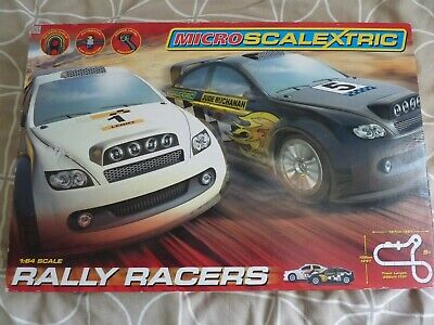 Micro Scalextric Rally Racers Plus Extras. • 30£