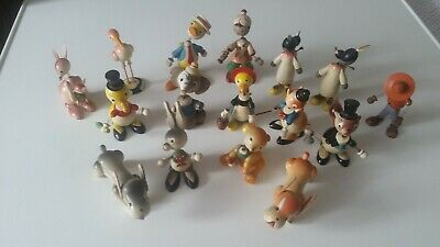 16 Bobbleheads By Goula Of Spain C1950's • 15.99£