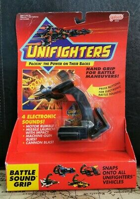NEW Unifighters - BATTLE-SOUND GRIP - Electronic Vehicle Attachment 1990 Galoob • 59.99£