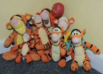 Bundle Of 7 Tigger Soft Toys Including BNWT Special Edition 80 Years Toy • 5£