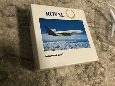 Herpa Wings Royal Lockhead 1011 • 1.99£
