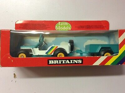 Britains Jeep And Trailer Vintage 1976 • 14.99£