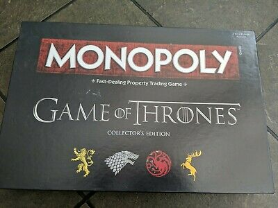 Game Of Thrones Edition Monopoly Official Licensed Product • 5£