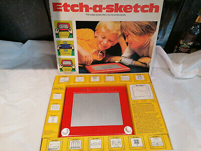 Vintage ETCH A SKETCH Magic Screen In Box With Instructions  • 24.99£