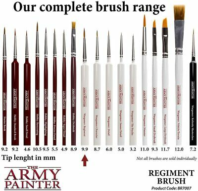 The Army Painter - Paint Brushes The Complete Range Of Wargamer Brushes • 5.75£